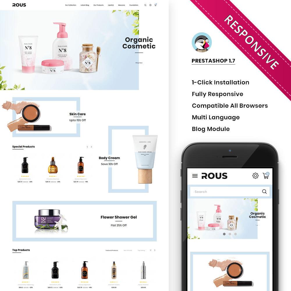 theme - Здоровье и красота - Rous - The Cosmetic Store - 1