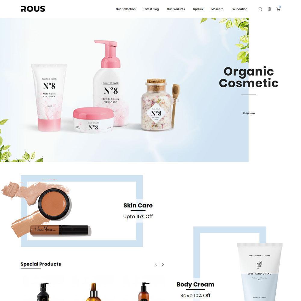 theme - Здоровье и красота - Rous - The Cosmetic Store - 4