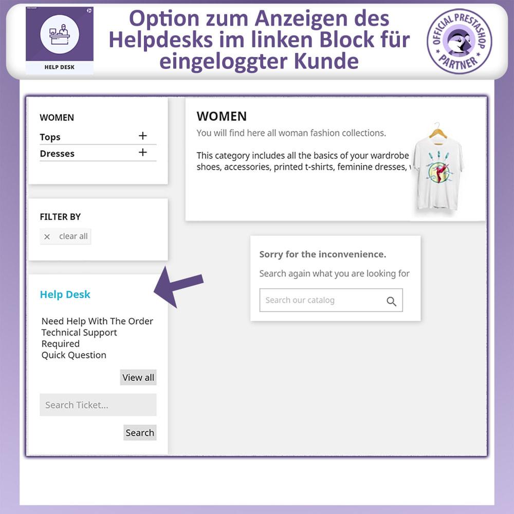 module - Kundenservice - Helpdesk – Kundensupport Verwaltungssystem-Module - 2