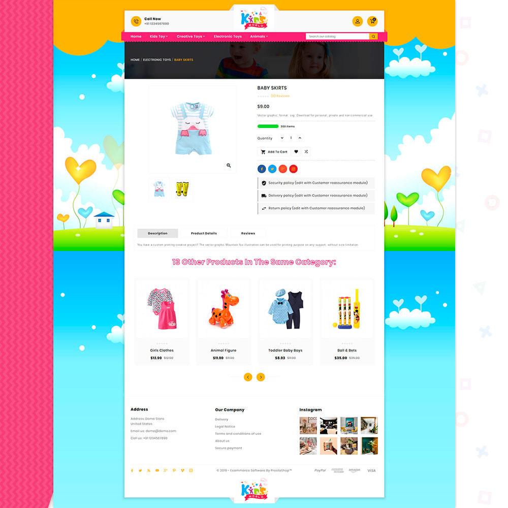 theme - Crianças & Brinquedos - Kids World Toys-  Toy Big Mart - 4