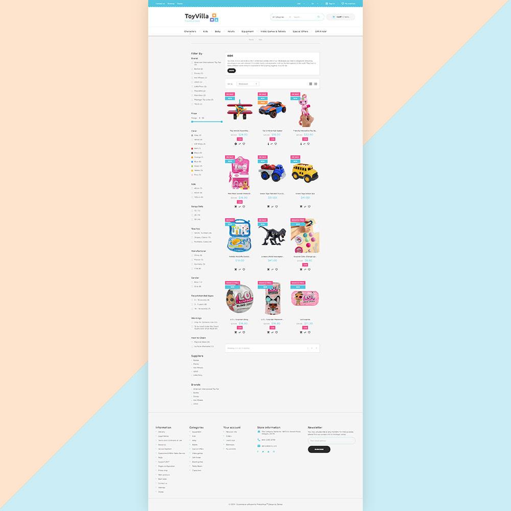 theme - Дети и Игрушки - ToyVilla - Plaything Store - 3