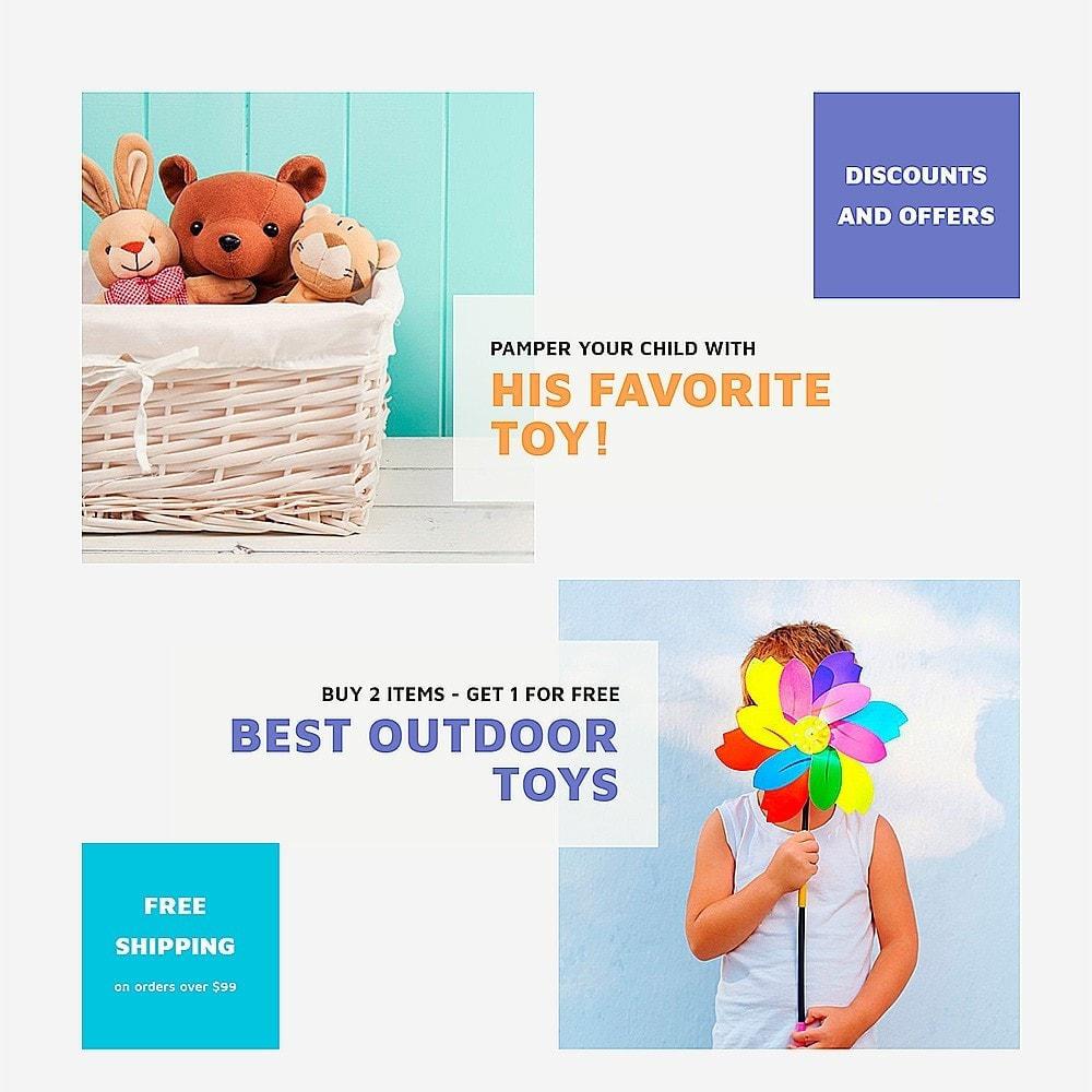 theme - Дети и Игрушки - ToyVilla - Plaything Store - 7