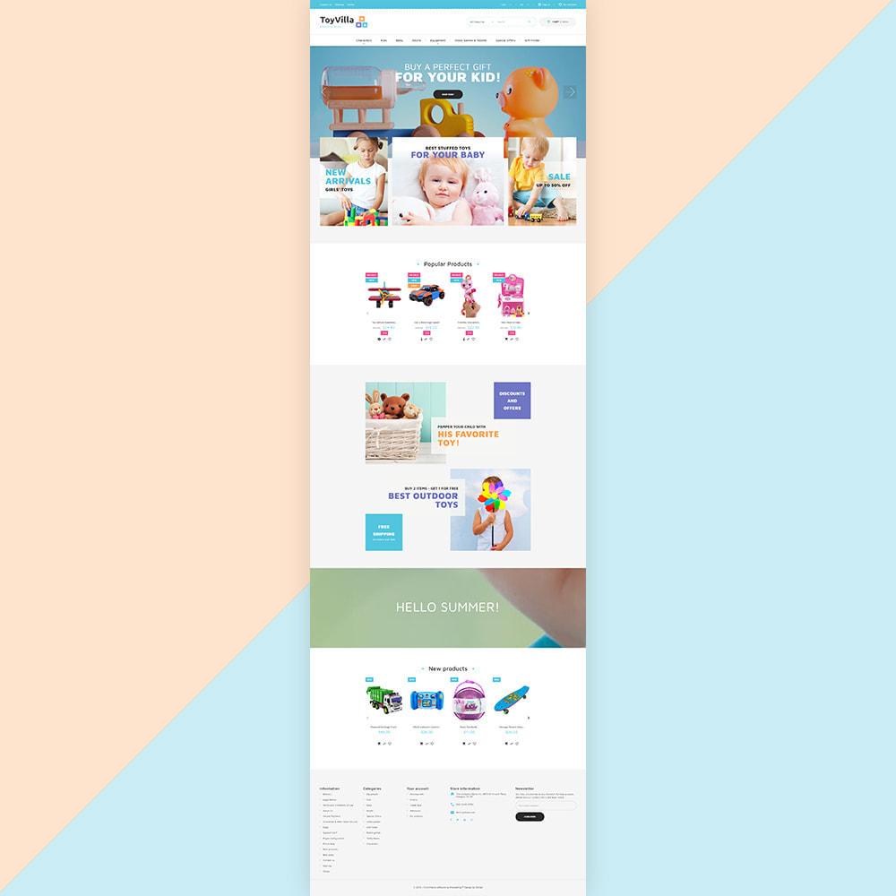 theme - Niños y Juguetes - ToyVilla - Plaything Store - 3