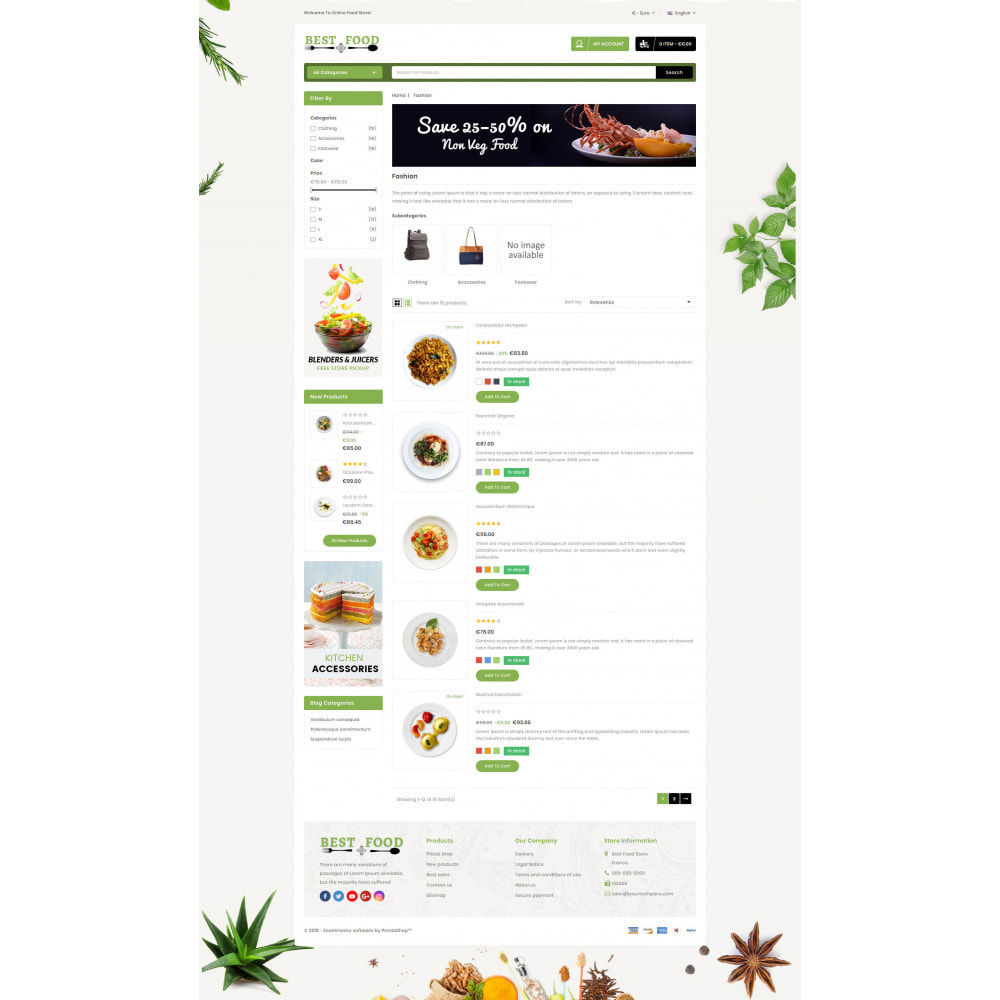theme - Lebensmittel & Restaurants - Best Food Store - 4