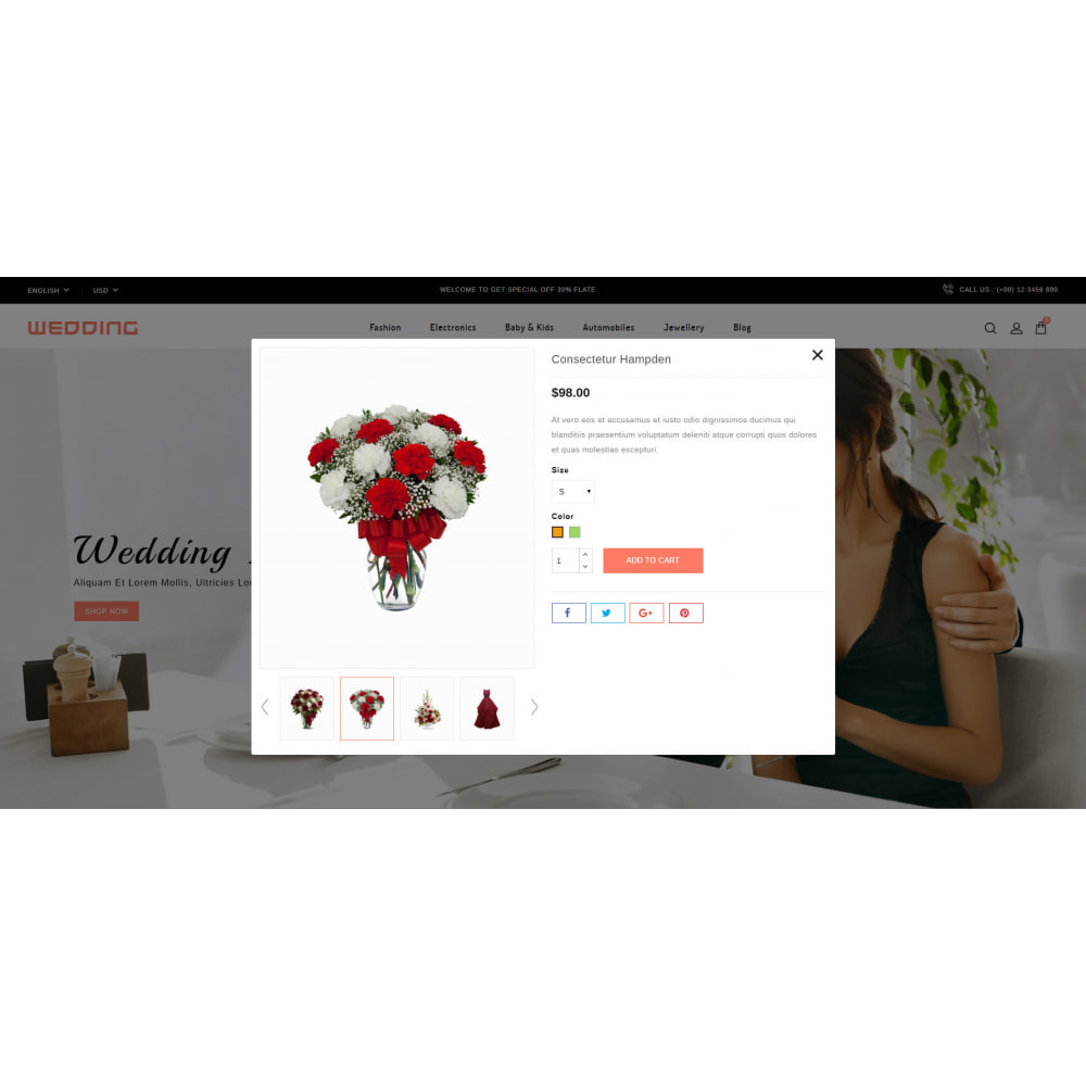 theme - Мода и обувь - Wedding Collection Store - 7