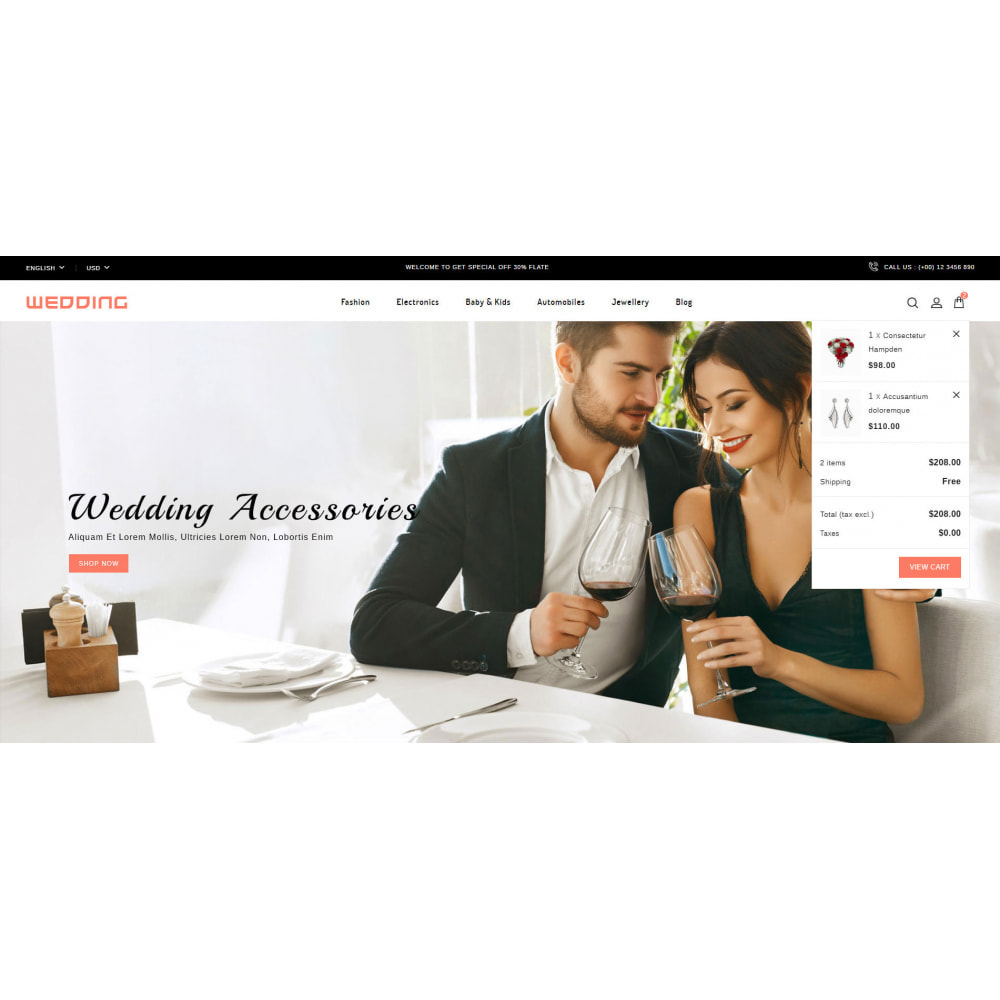 theme - Мода и обувь - Wedding Collection Store - 8