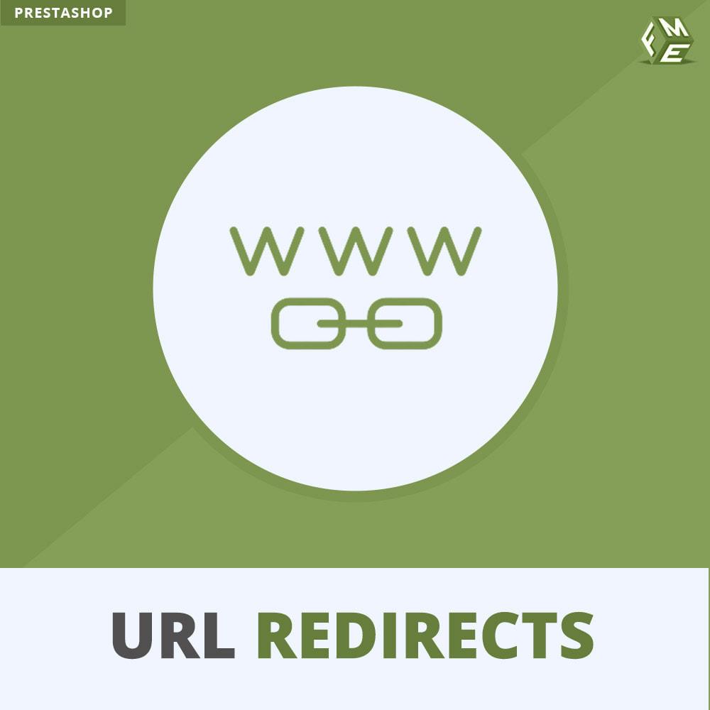 module - URL & Redirects - URL Umleitung, Verwalten Sie 301, 302, 303 & 404 URLs - 1