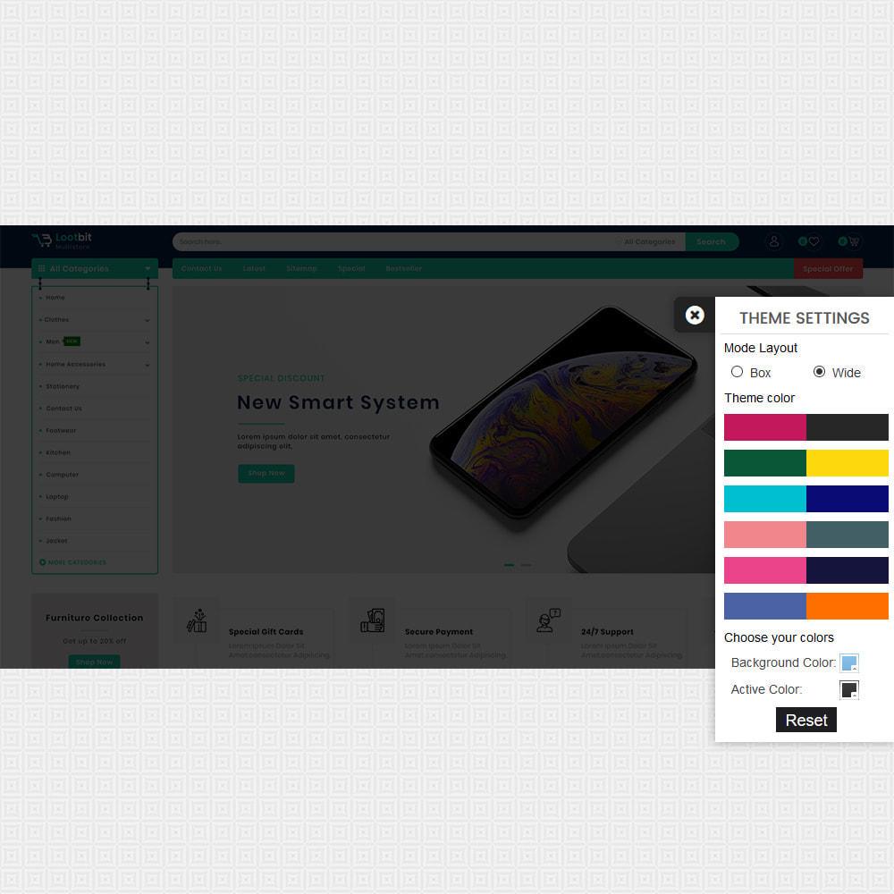 theme - Elektronik & High Tech - Lootbit - Multi Store Theme - 8