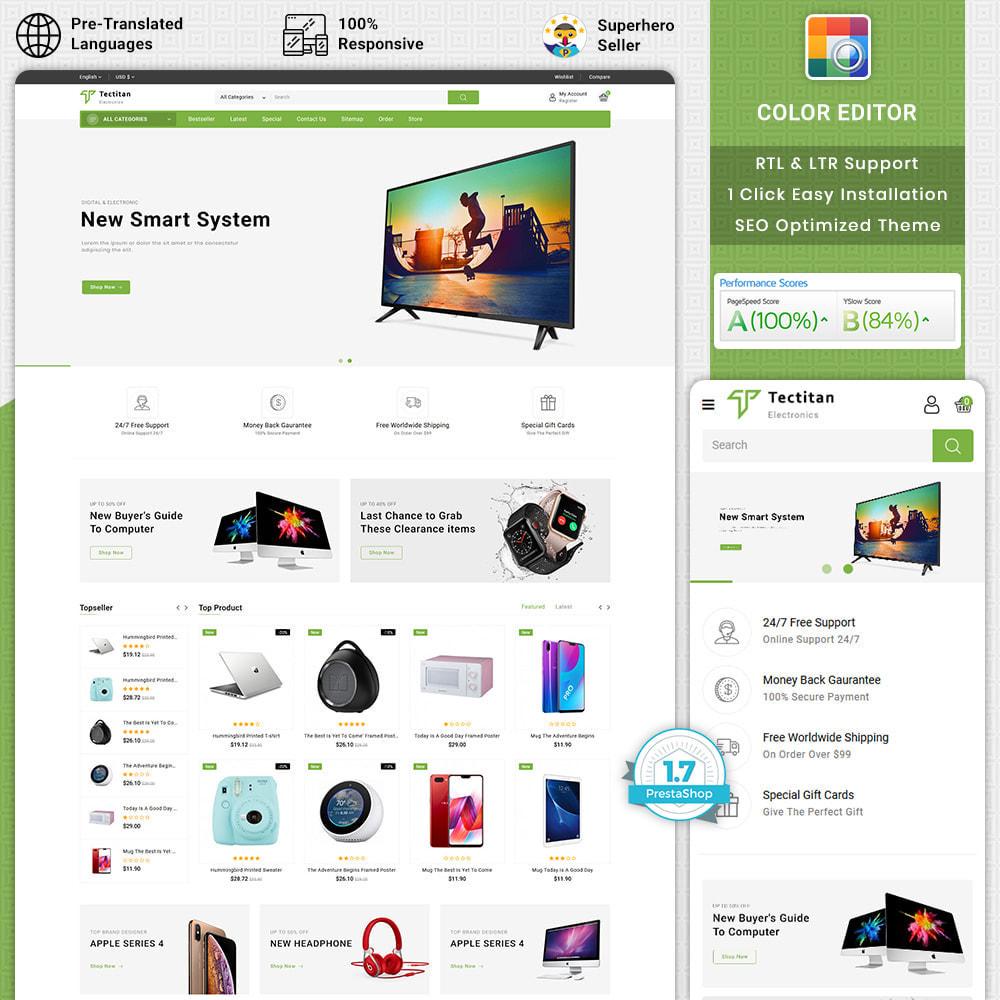 theme - Electronics & Computers - Tectitan - Best Electronics Store - 1