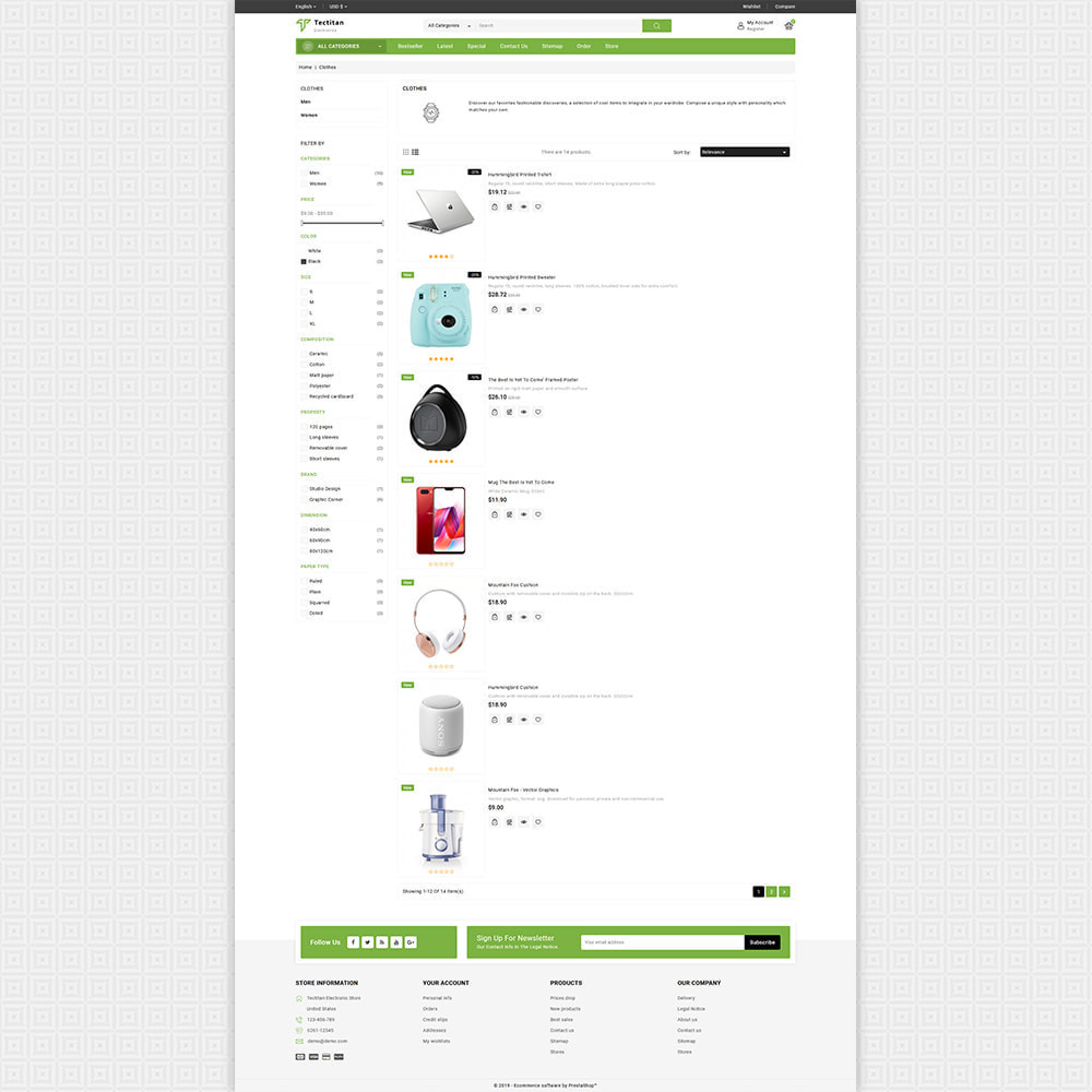 theme - Electronics & Computers - Tectitan - Best Electronics Store - 4