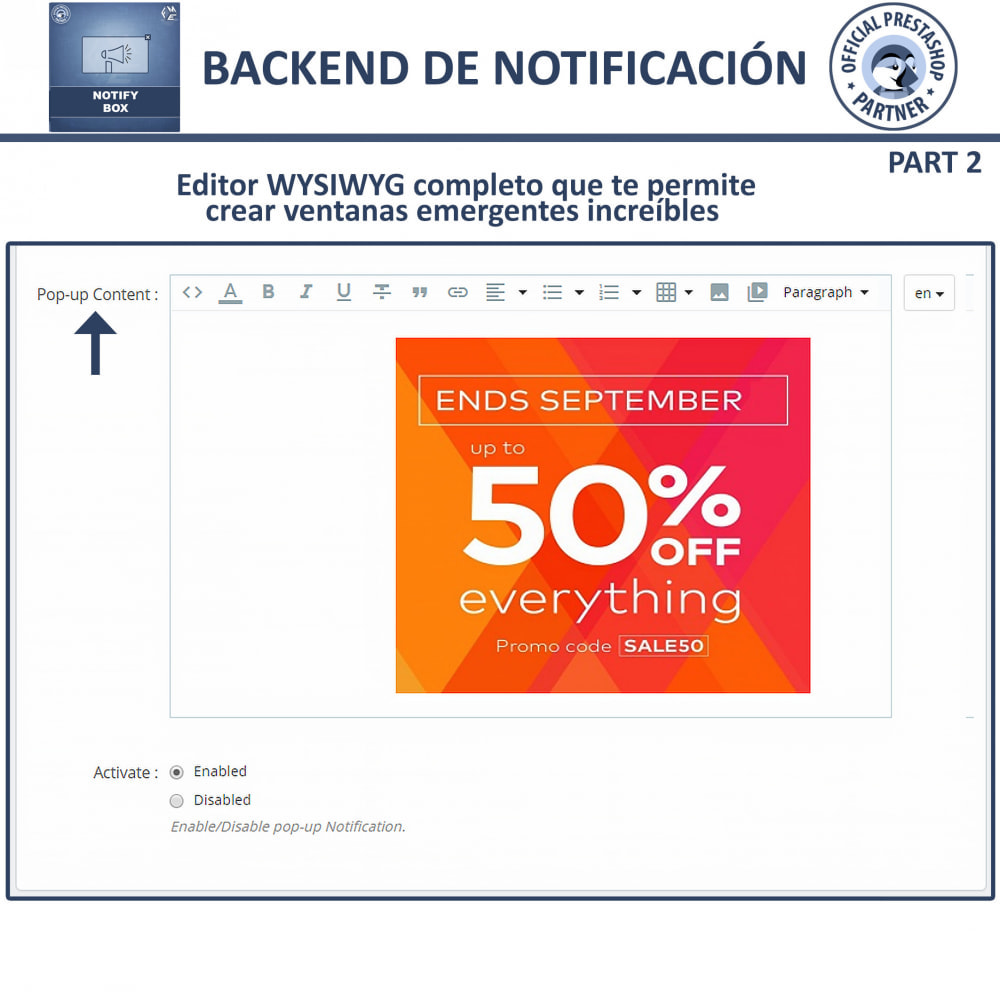 module - Pop-up - Popup Promo y Notificación - 5