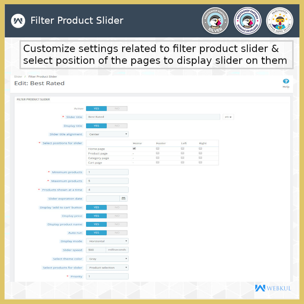 module - Sliders & Galleries - Product Slider - 7
