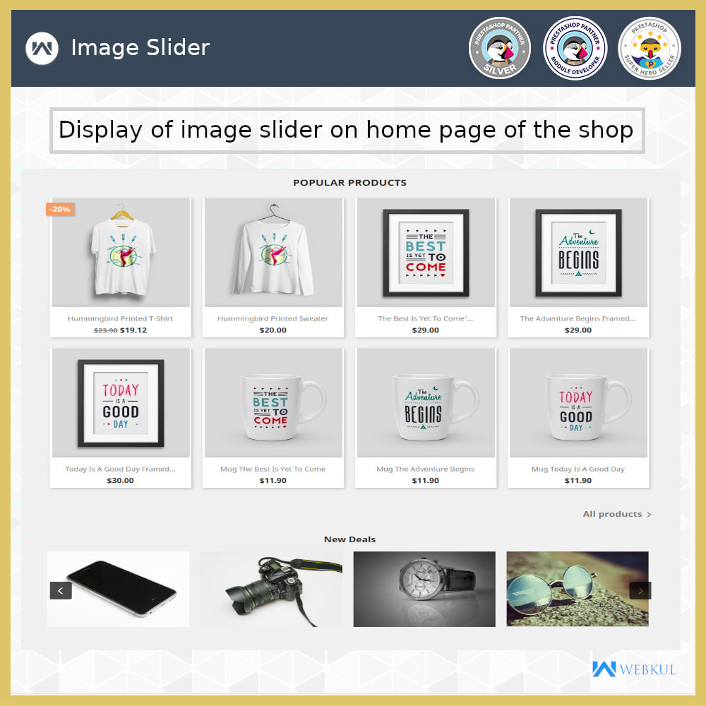 module - Sliders & Galleries - Product Slider - 12