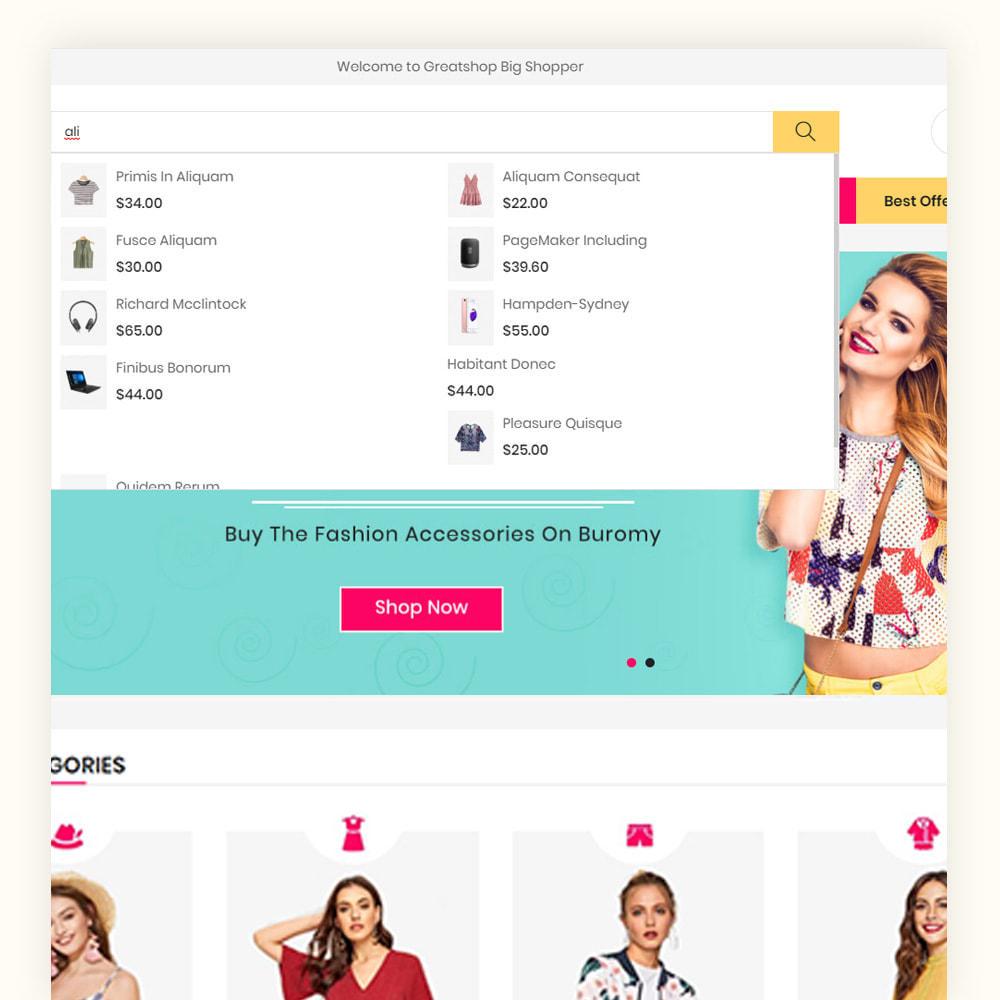 theme - Mode & Chaussures - Greatshop Mega Fashion Store - 3
