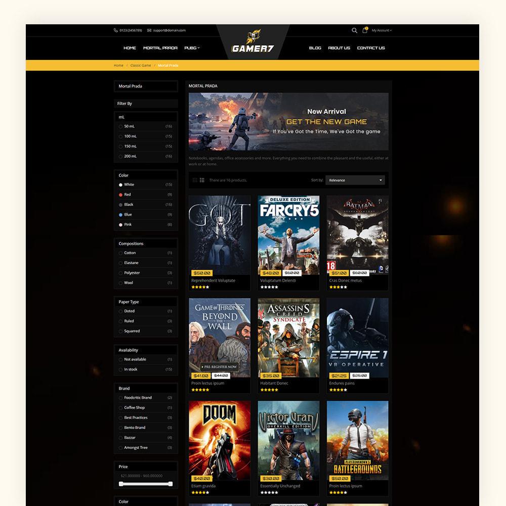 theme - Sport, Activiteiten & Reizen - Gamer7 Game Store - 5