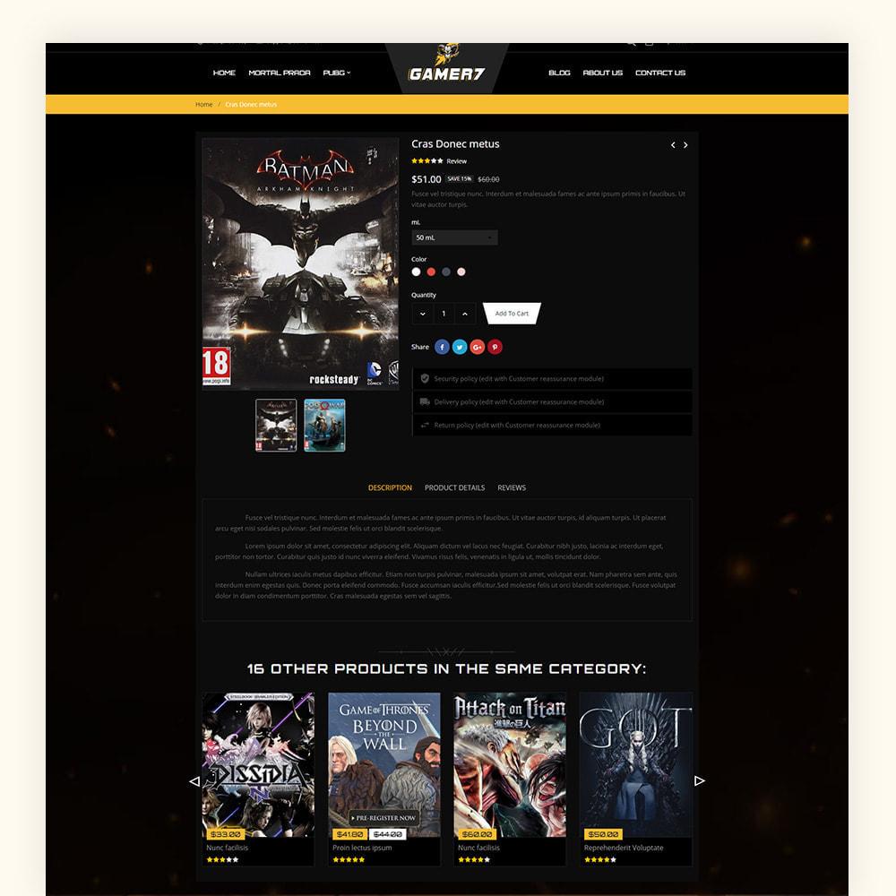theme - Sport, Activiteiten & Reizen - Gamer7 Game Store - 7