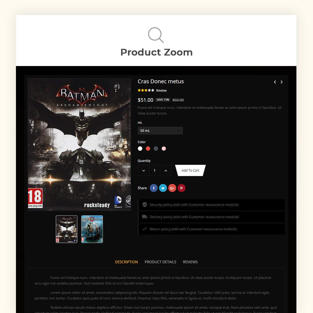 theme - Sport, Activiteiten & Reizen - Gamer7 Game Store - 8