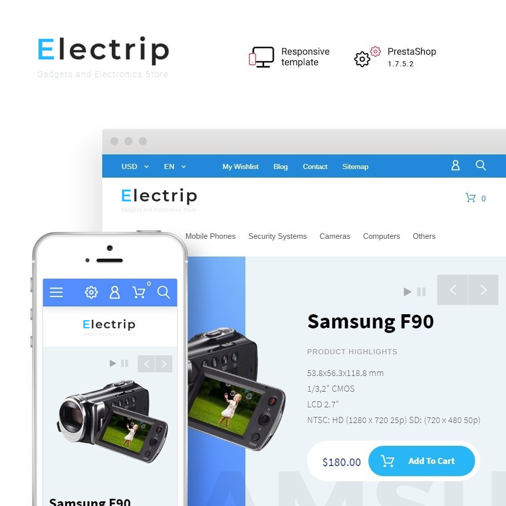 theme - Electronics & Computers - Electrip - Gadgets and Electronics Store - 1
