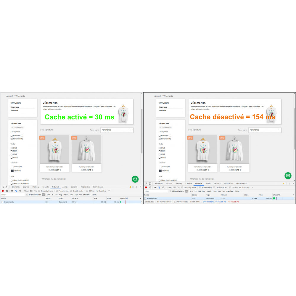 module - Performance du Site - BOOSTCACHE - 1