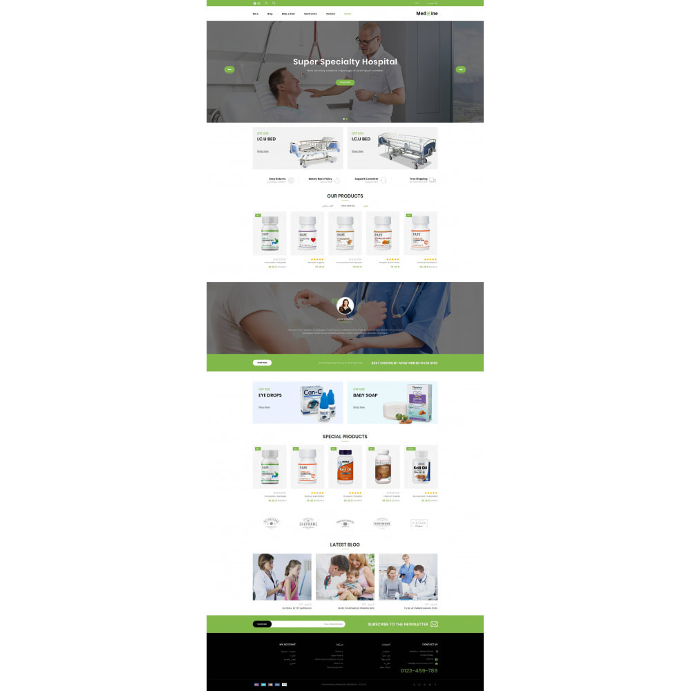 theme - Health & Beauty - Medxine - Medical Store - 10