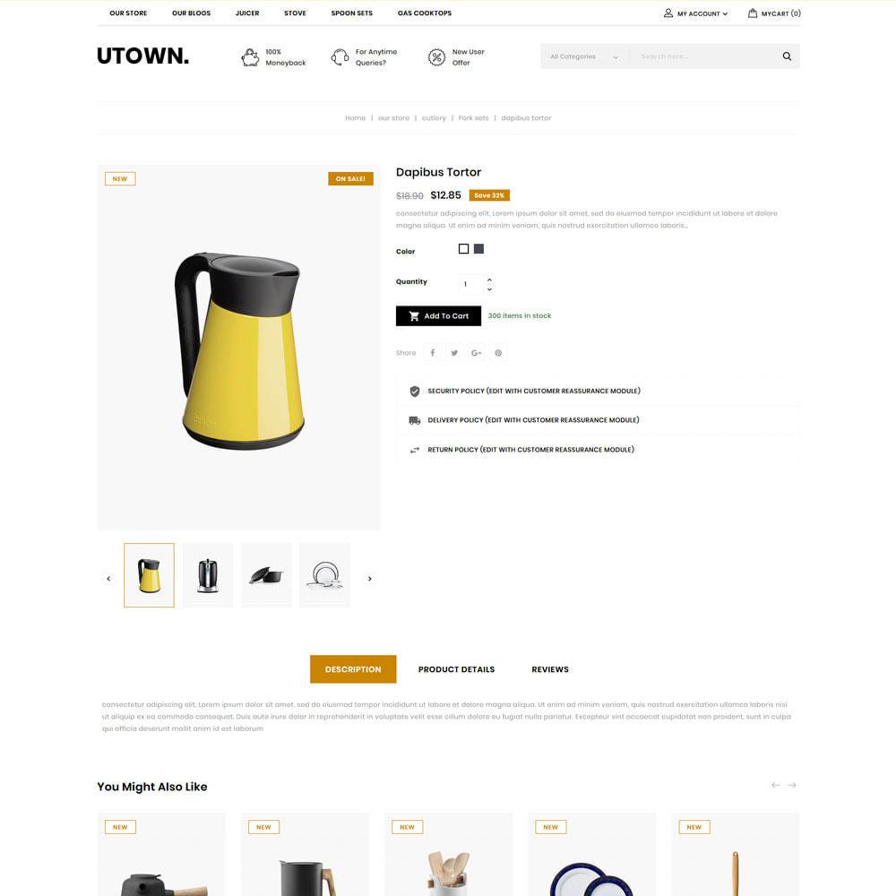 theme - Maison & Jardin - Utown - Le magasin de cuisine - 8