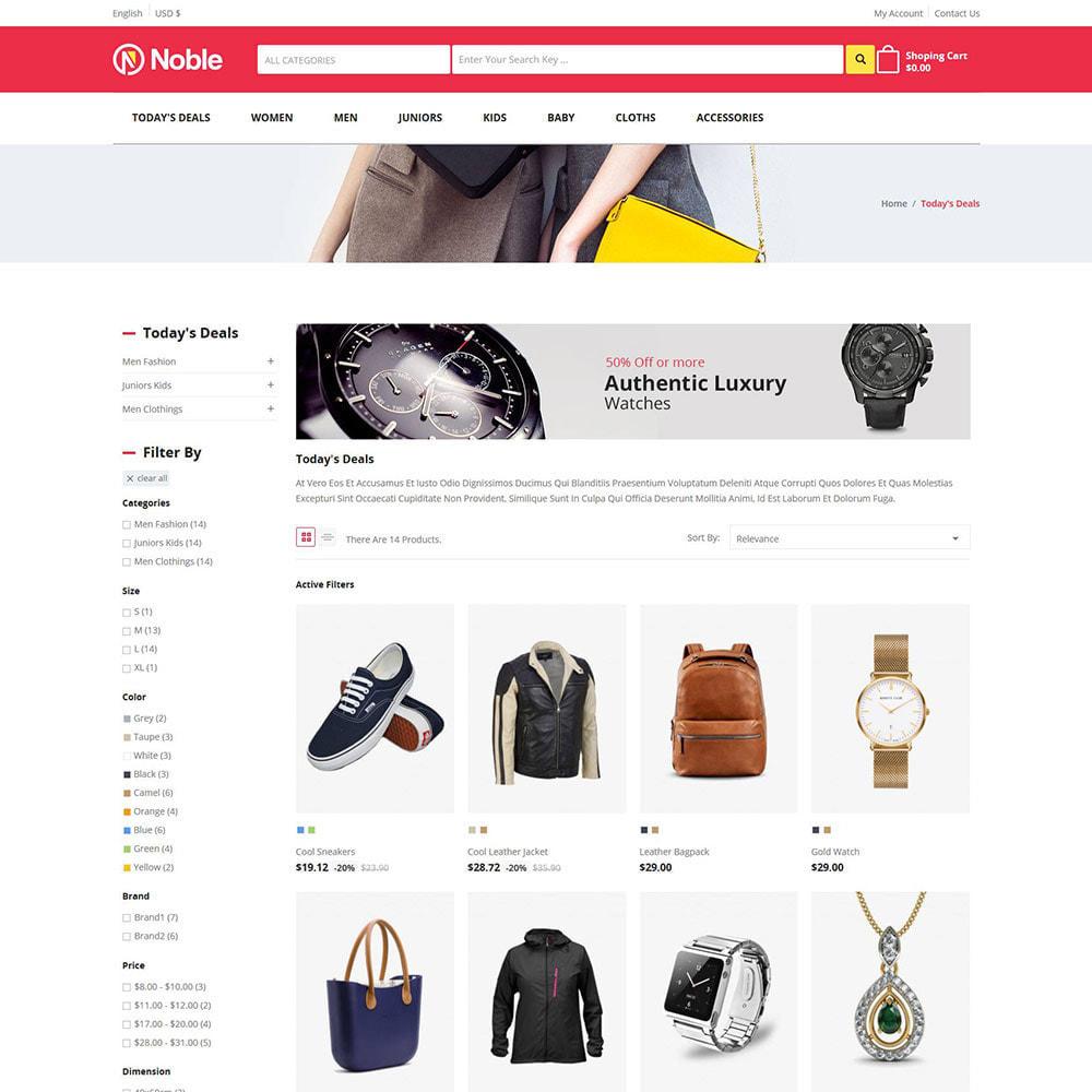 theme - Fashion & Shoes - Noble Apparels  - Women Fashion Store - 3