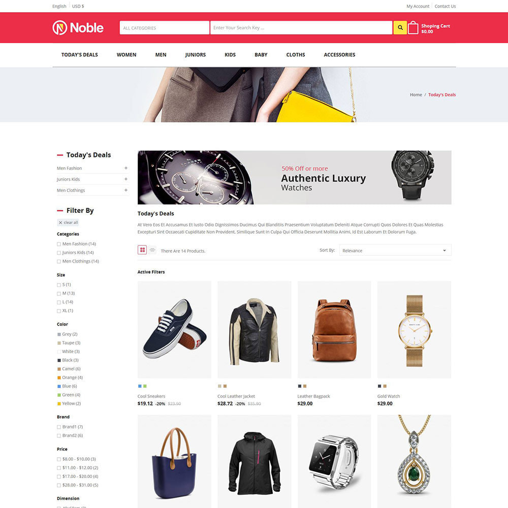theme - Moda & Obuwie - Noble Apparels  - Women Fashion Store - 3