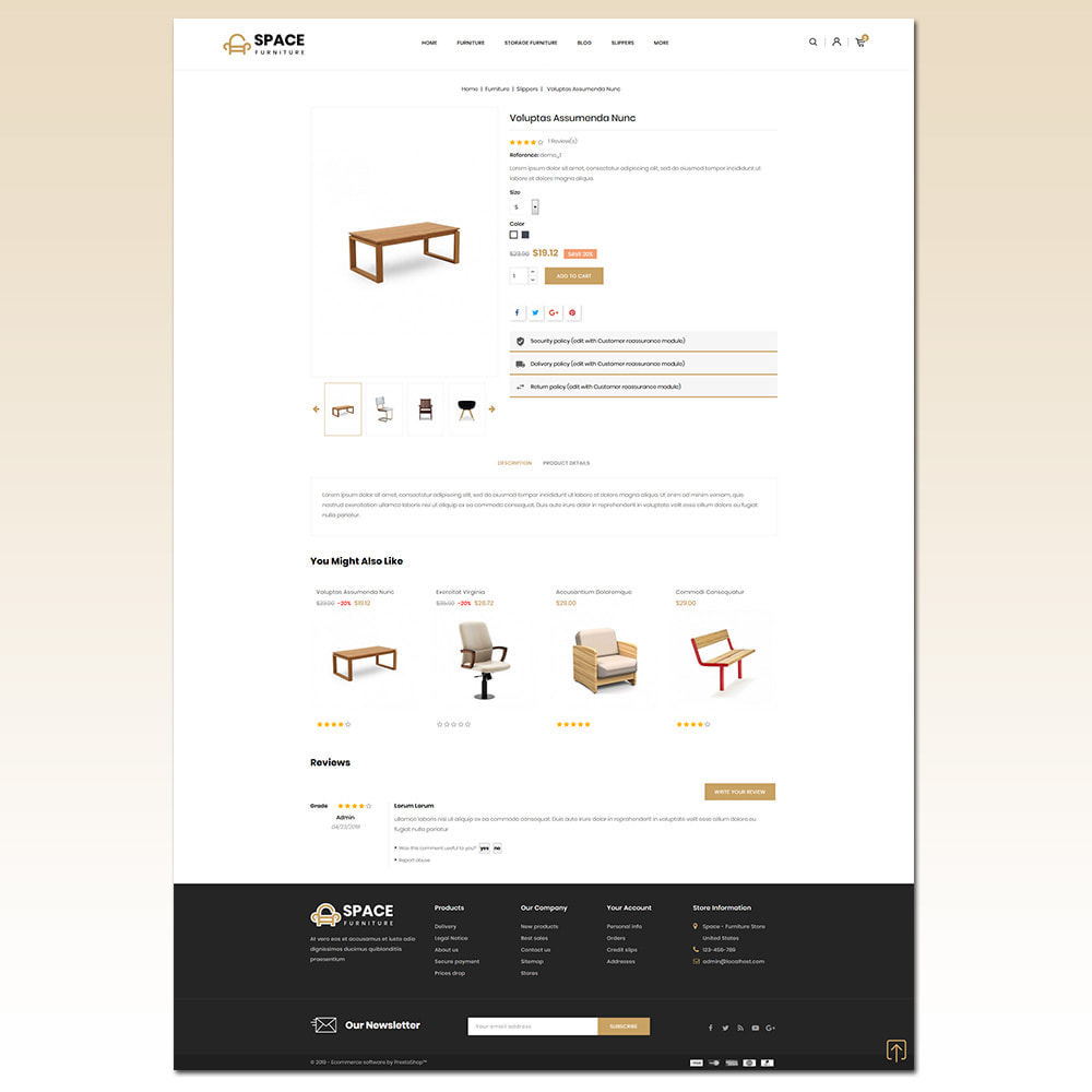theme - Home & Garden - Space - Online Furniture Store - 5