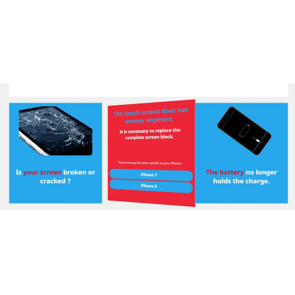 module - Page Customization - 3 Tiles - 3
