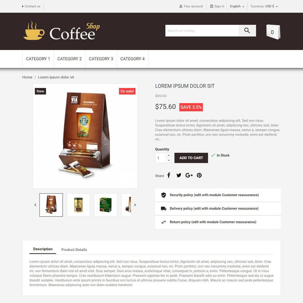 theme - Food & Restaurant - CoffeeShop - 3