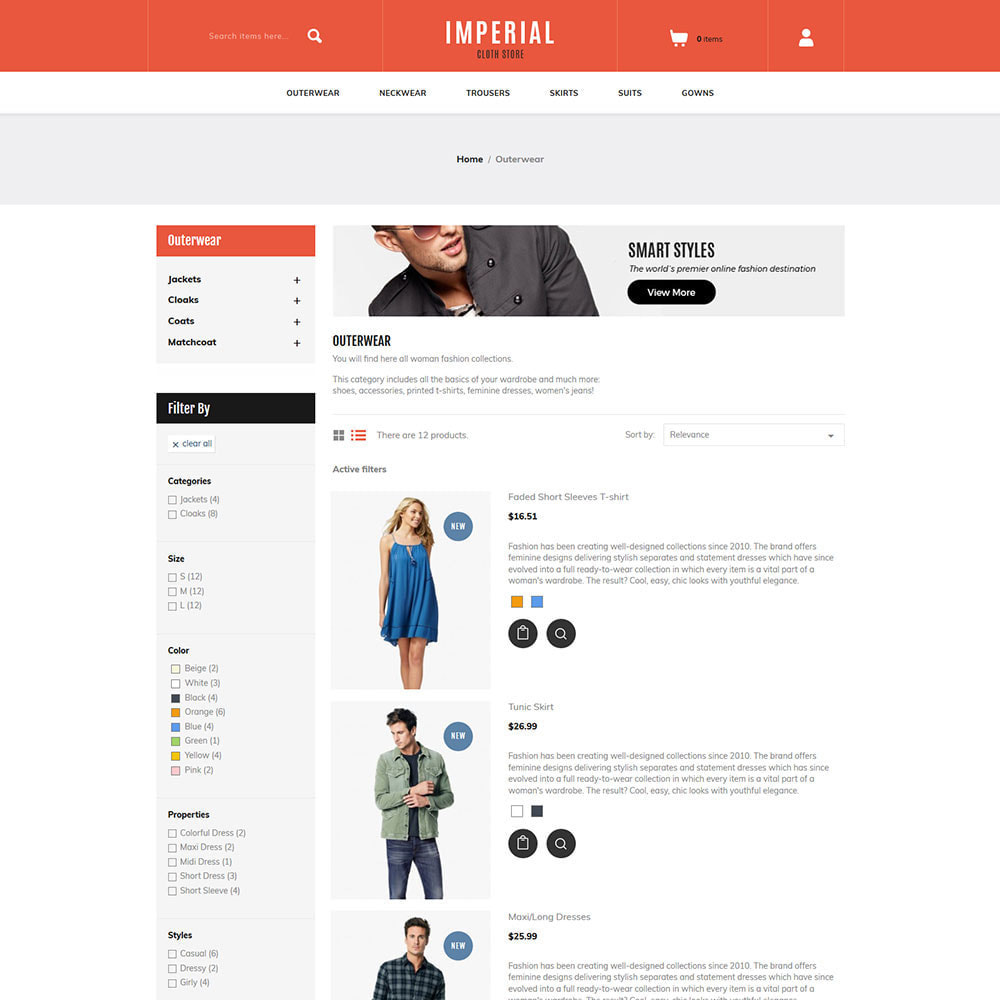 theme - Fashion & Shoes - Fashion Clothes - Watches Bag Store - 4