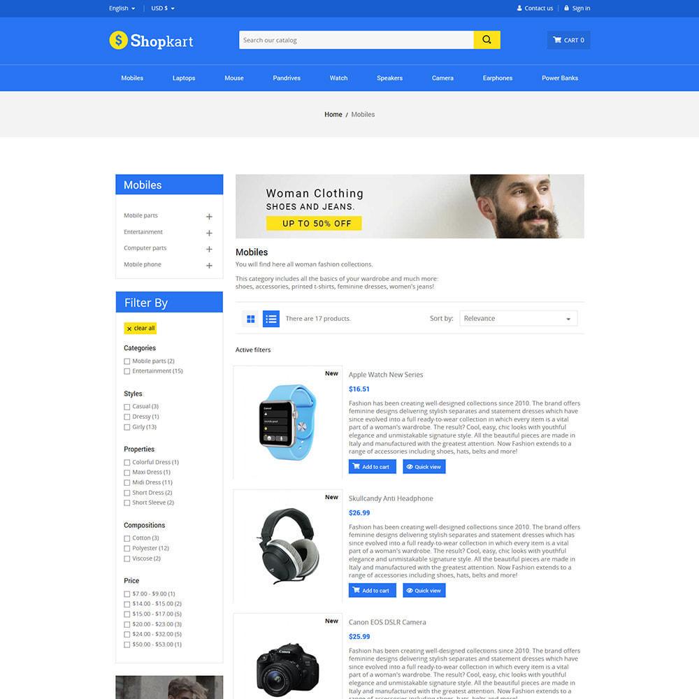 theme - Электроника и компьютеры - Shopkart Electronics - Digital Mobile Store - 4