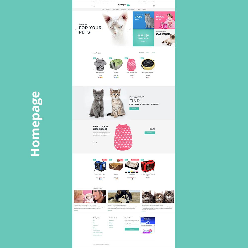 theme - Animals & Pets - Pawspot - Pets Store - 6