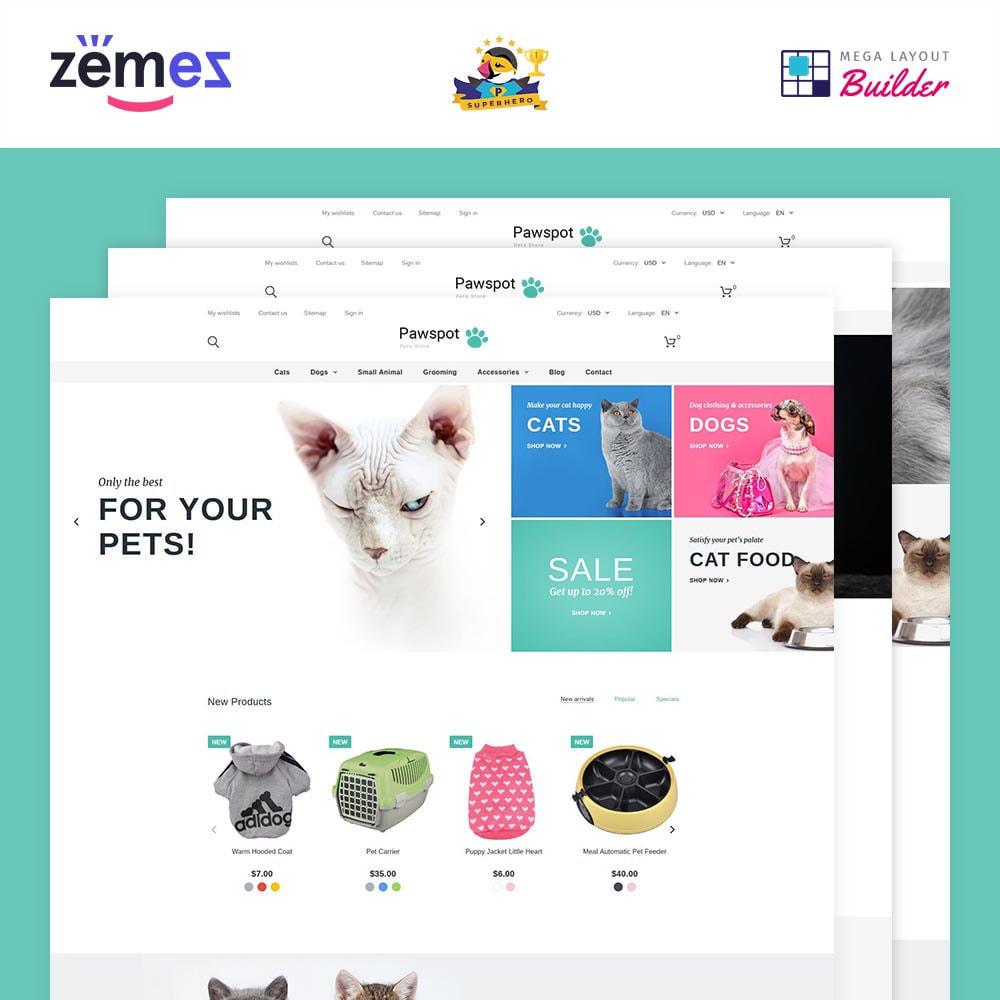 theme - Animales y Mascotas - Pawspot - Pets Store - 2
