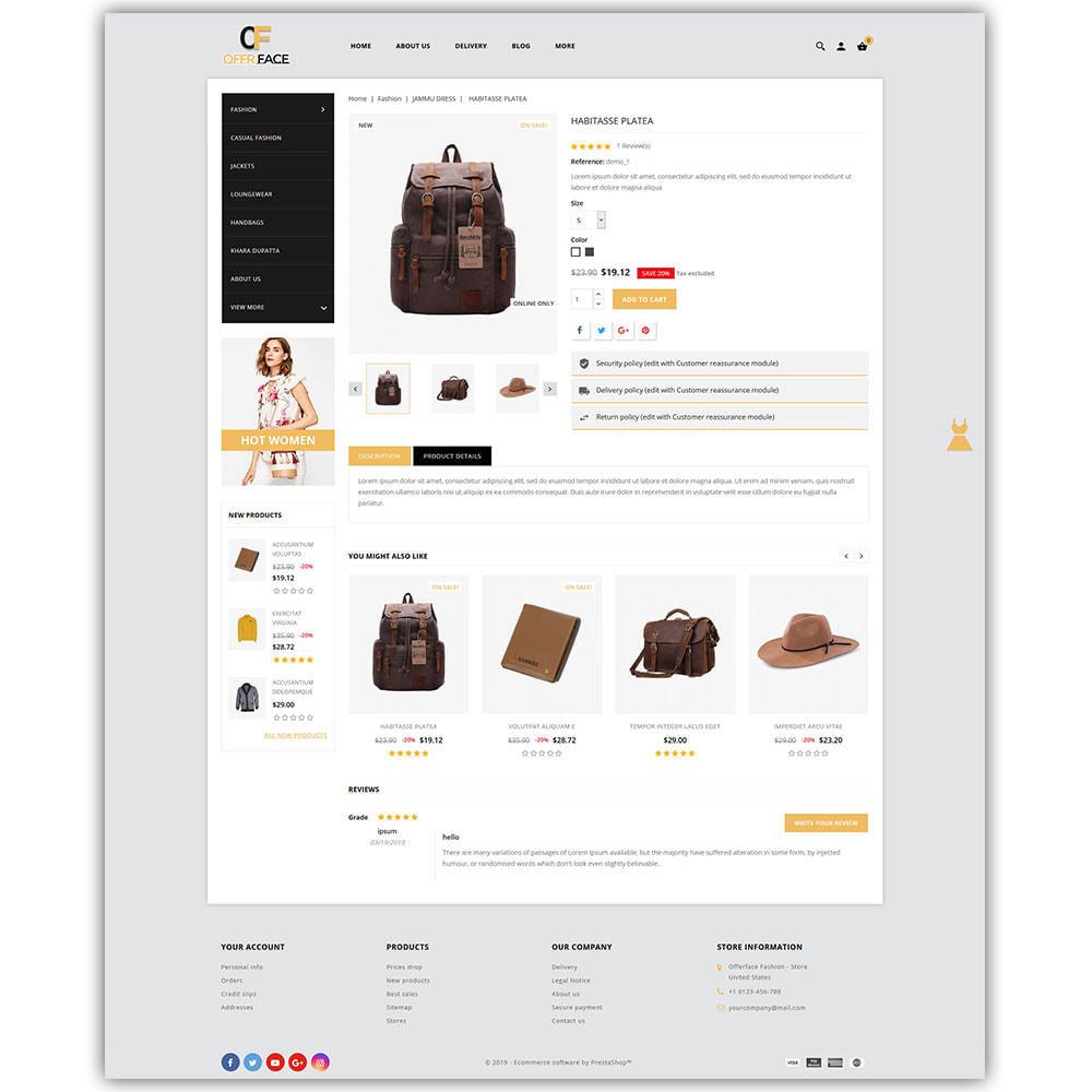 theme - Fashion & Shoes - Offerface Fashion Store - 7