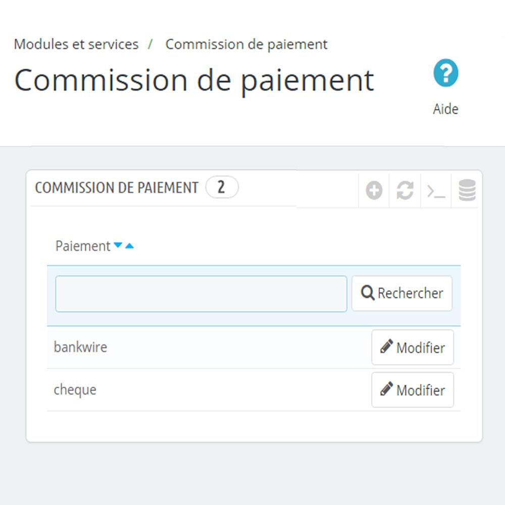 module - Paiement à la Livraison (COD) - Commission des méthodes de paiement - 7