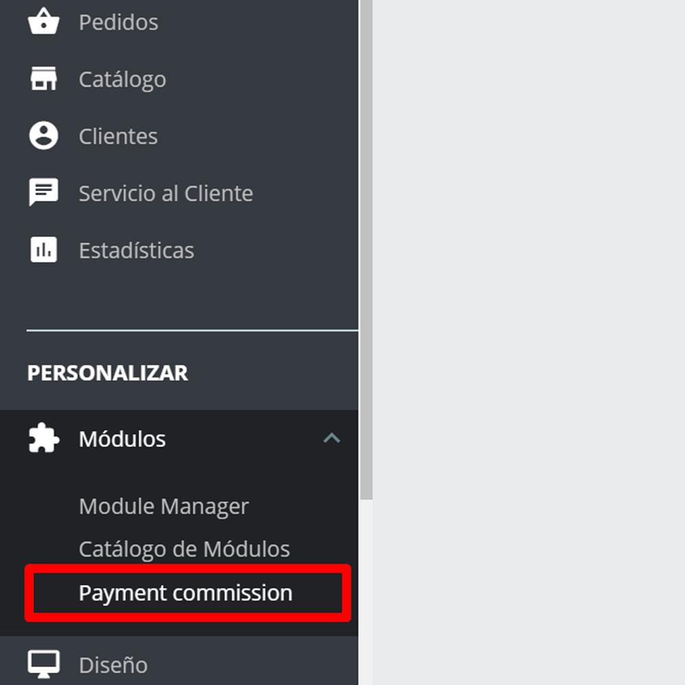 module - Pago a la Entrega (contrarrembolso) - Comisión de los métodos de pago - 9