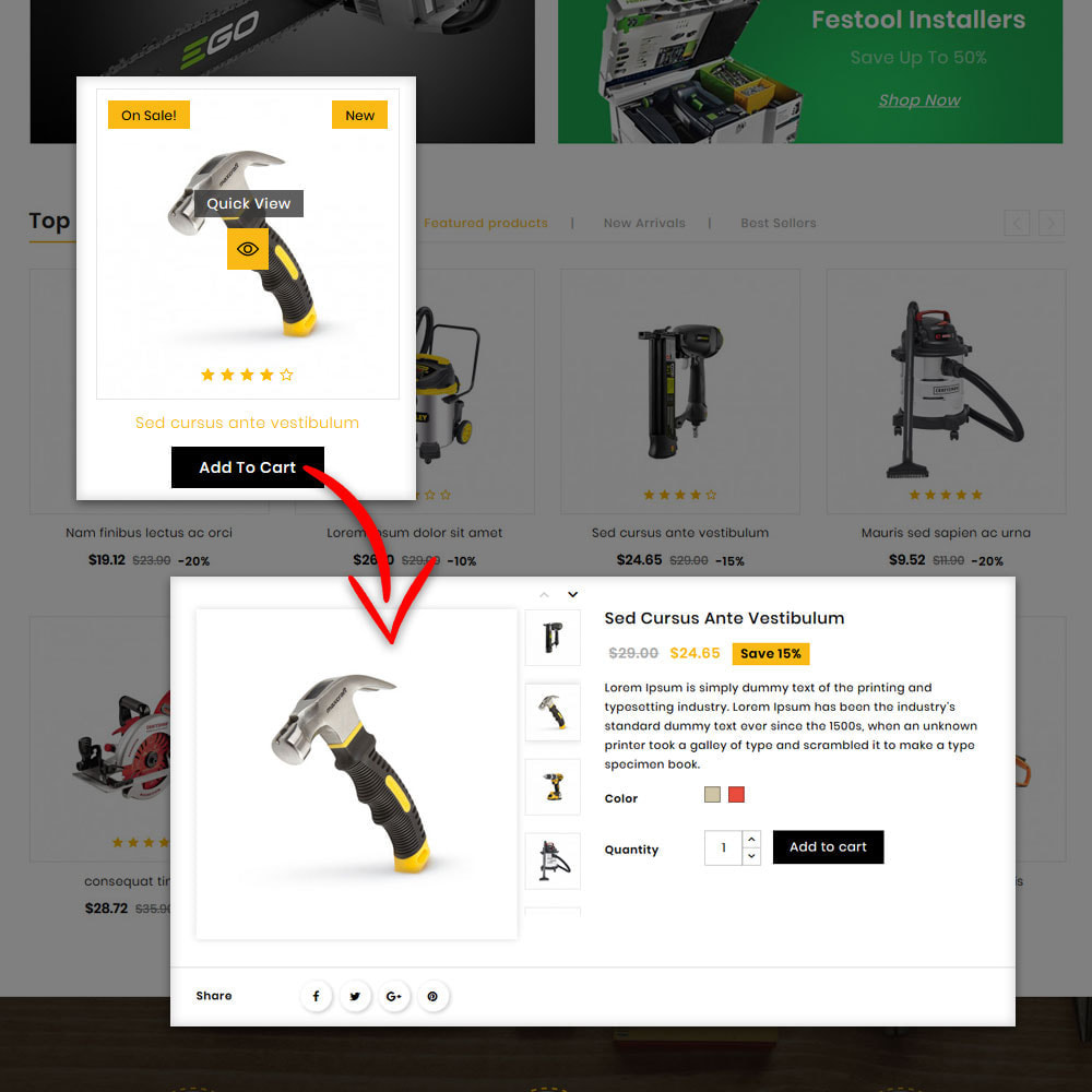 theme - Automotive & Cars - Buil Tool Power Store - 7