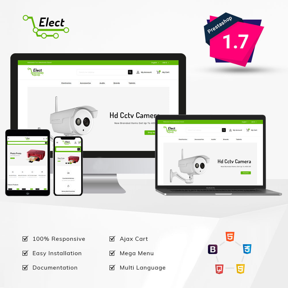theme - Electronics & Computers - Elect Digital Store - 1