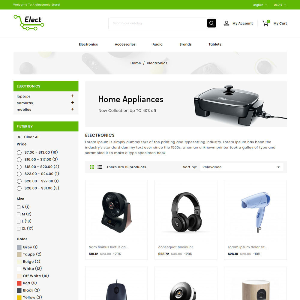 theme - Electronics & Computers - Elect Digital Store - 3