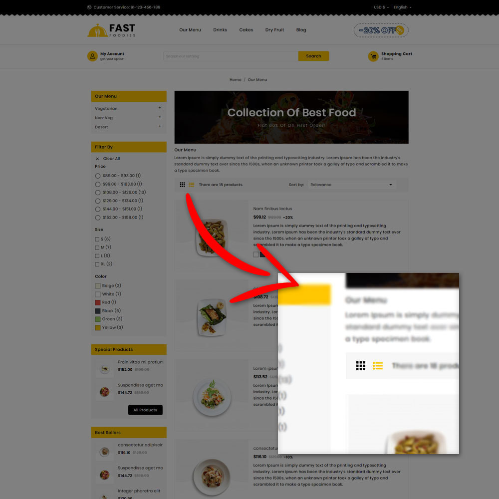 theme - Eten & Restaurant - Fast Foodies Shop - 5