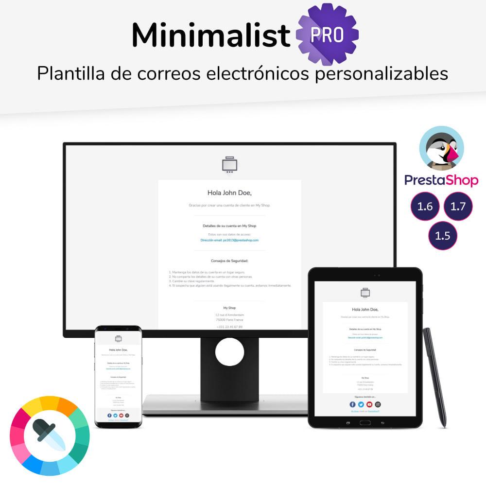 email - Plantillas de correos electrónicos PrestaShop - Minimalist Pro - Plantilla de correos electrónicos - 1