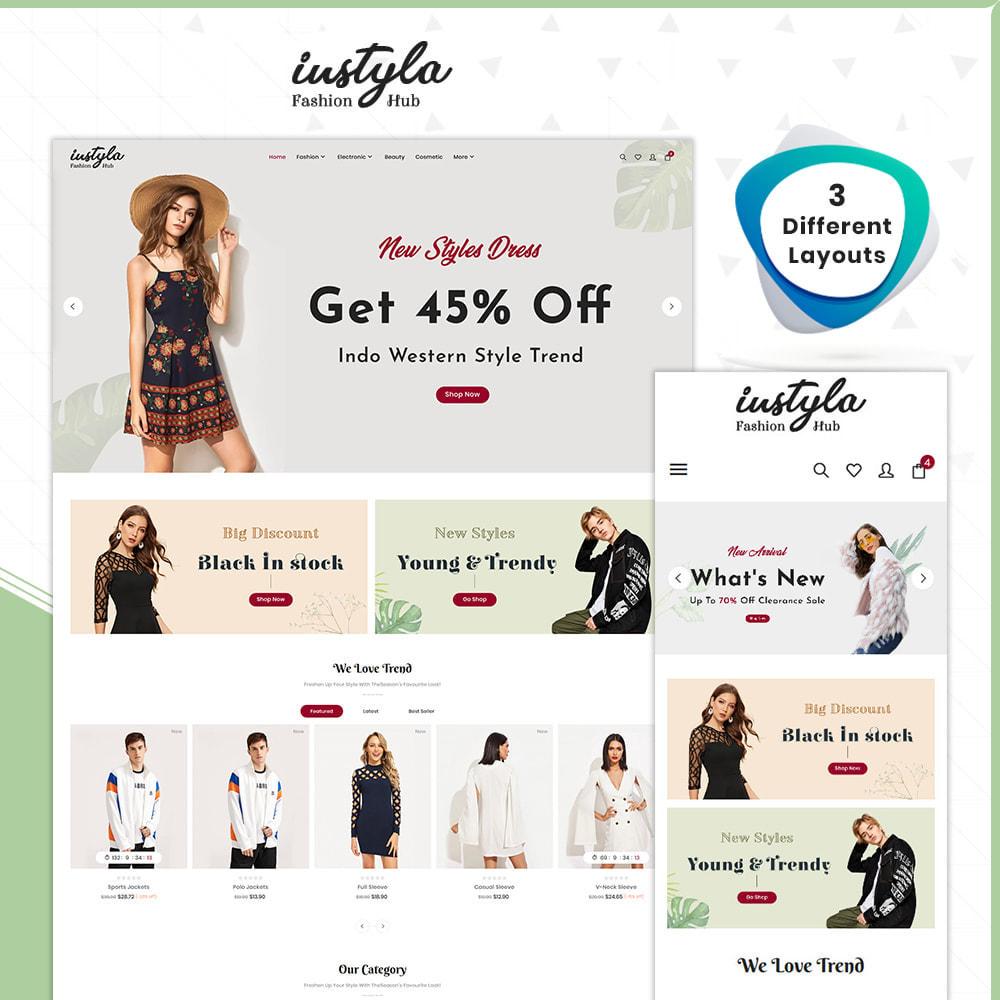 theme - Fashion & Shoes - Instyle  Moda - Fashion Store - 1