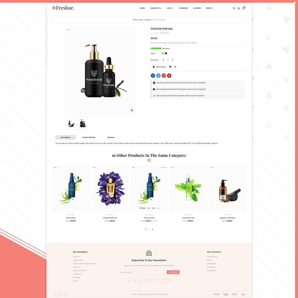 theme - Fashion & Shoes - Cosmétique - Freshael Cosmatic Shop - 4