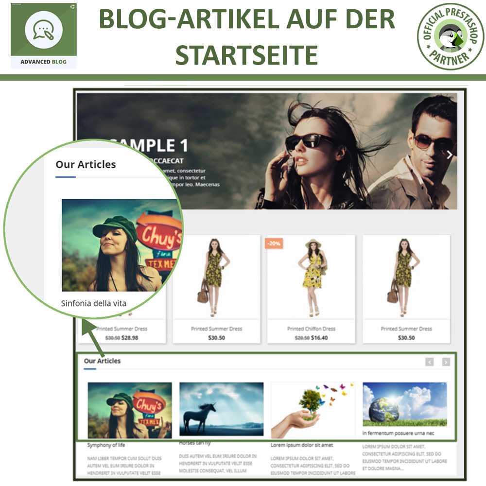 module - Blog, Forum & News - Responsives Professionelles Blog, SEO-Freundliches Blog - 12