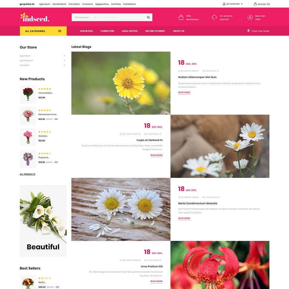 theme - Regali, Fiori & Feste - Indseed - Il negozio di bouquet online - 9
