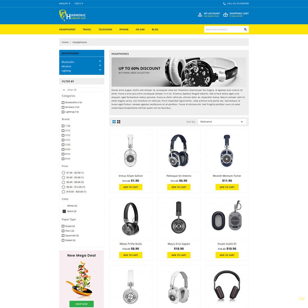 theme - Electronics & Computers - Harmonic Electronics & Computer Store - 3