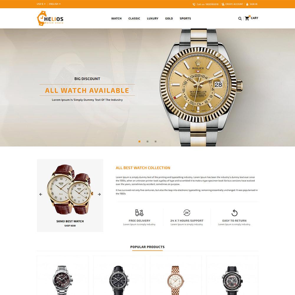 theme - Fashion & Shoes - Helios Fashion & Watch Store - 2