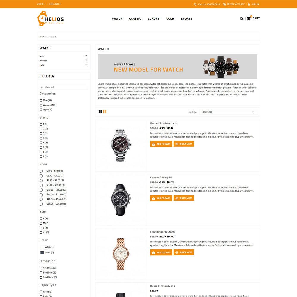 theme - Fashion & Shoes - Helios Fashion & Watch Store - 4