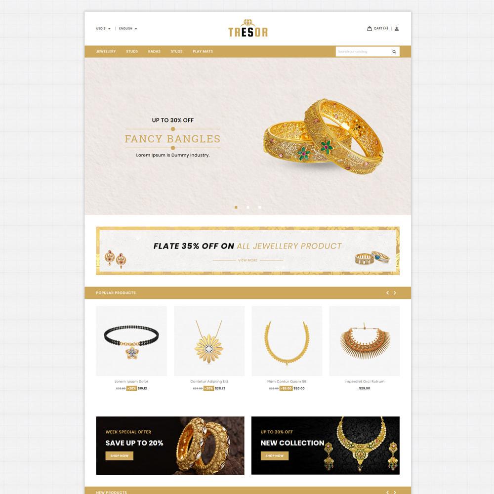 theme - Jewelry & Accessories - Tresor Jewellery & Accesories Store - 2